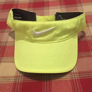 b86395072a5c2 Nike Accessories - Neon Green Nike Visor